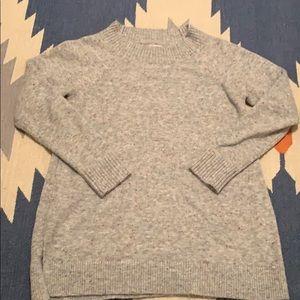 Loft Sweater size Small. Grey with multi fleck